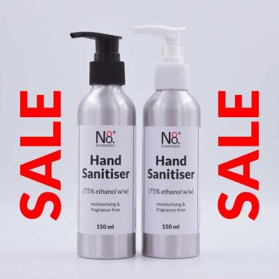 SALE  NZ Made Hand Sanitiser – 150ml Aluminium Bottle Image
