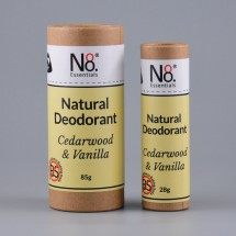 Natural Deo - Baking Soda-Free - Cedarwood & Vanilla