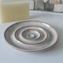 Handthrown Ceramic Soap Dish