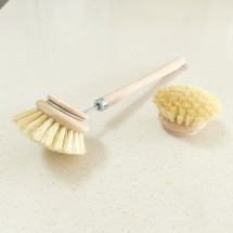Beechwood Dish Brush with replacement head