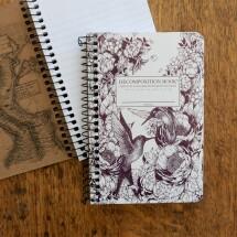 Pocket Spiral Notebook - Hummingbirds