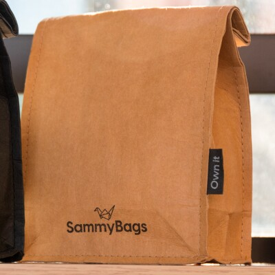 SammyBag Reusable Paper Lunch Bag Image