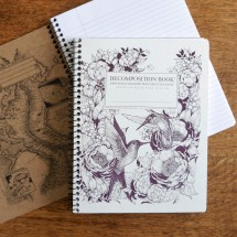 Large Spiral Notebook - Hummingbirds