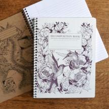 Large Spiral Notebook - Hummingbirds Image