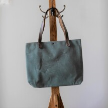 Waxed Canvas Everyday Tote