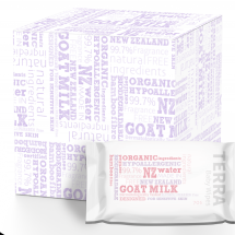 TERRA  GOAT MILK WIPES  Value Pack