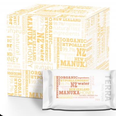 TERRA MANUKA HONEY WIPES Value Pack Image