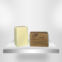 Vanilla (Unscented) Soap Bar - Organic 110g
