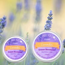 Cream Deodorant -Lavender (Organic )
