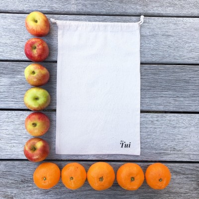 Reusable Natural Cotton Bags (Big Buddy 25.5×40.5cm) Image