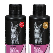 Feline Flax Seed Oil 150ml - Crab or Liver