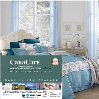 Canacare NZ Alpaca+NZ Wool Luxurious duvet inner NZmade Image