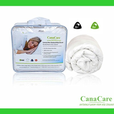 Canacare Pure Wool Duvet  Combo for All Season 500GS Image
