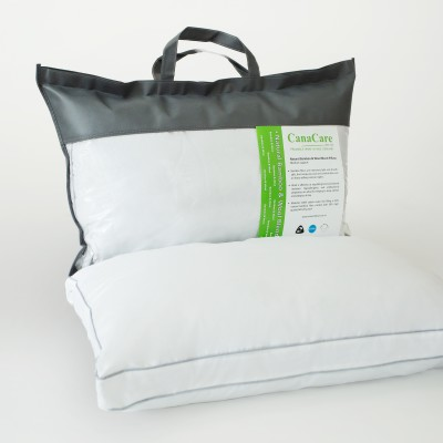 CanaCare Deluxe 100% Natural Remedy Bamboo/ Wool Pillow Image