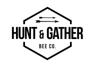 Hunt and Gather Bee Co Logo