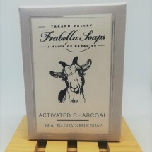 Activated Charcoal  Goats Milk Soap