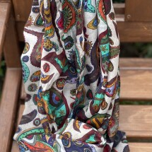 Paisley Scarf - Limited edition