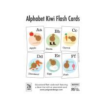 FLA002 Flash Cards - Alphabet Kiwi Flash Cards