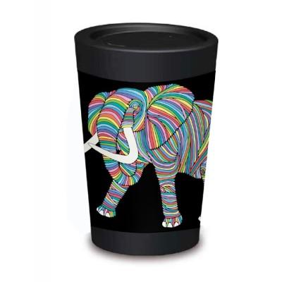 5045 CUPPACOFFEECUP Elephant Image