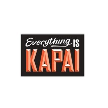 WOO002 Wooden Sign - Kapai A5