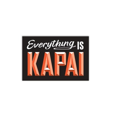 WOO002 Wooden Sign – Kapai A5 Image