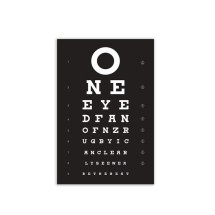 WOO008 Wooden Sign - Perfect Vision A5