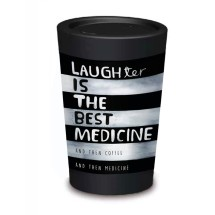 5069 CUPPACOFFEECUP Laughter then Medicine