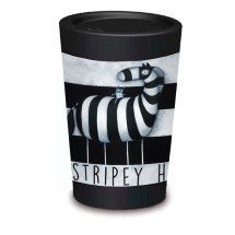 5070 CUPPACOFFEECUP Ze Stripey Horse