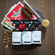 All in One Natural Home Cleaning Set + Hopi Soap