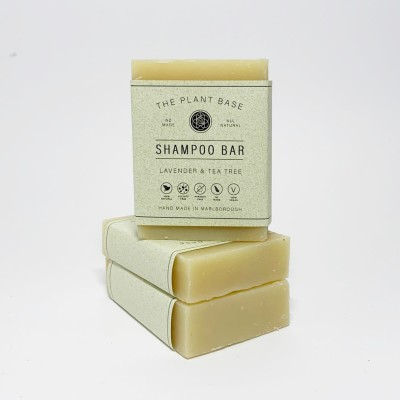Lavender & Tea Tree Hair Shampoo Bar Image