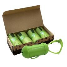 Eco Poop Bags - 100% Compostable Poop Bags (60 Bags)