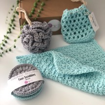 Hand crocheted Luxury Spa | Bath Gift Set 2