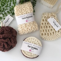 Hand crocheted Luxury Spa | Bath Gift Set 4