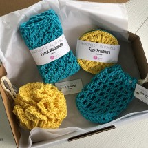 Hand crocheted Luxury Spa | Bath Gift Set 5 Image