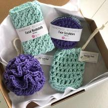 Hand crocheted Luxury Spa | Bath Gift Set 9
