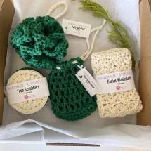 Hand crocheted Luxury Spa | Bath Gift Set 7