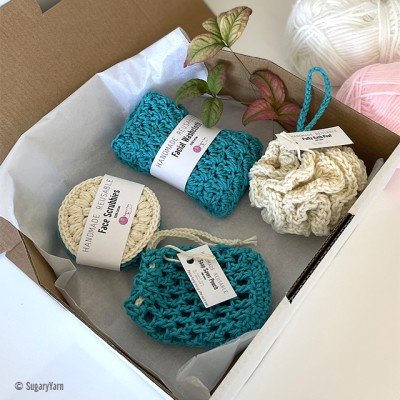 Hand crocheted Luxury Spa | Bath Gift Set 10 Image