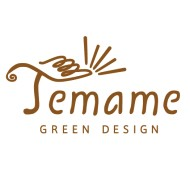 Temame Green Design Logo