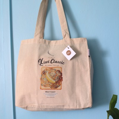 Whitebait Patties Foldable Eco Bag 《NZ Classic series 》 Image