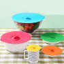 REUSEABLE SUCTION SEAL SILICONE LIDS Image