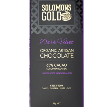 Solomons Gold Dark Velvet Chocolate