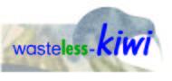 Wasteless-Kiwi Logo