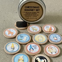 CHRISTMAS  MAGNET SET
