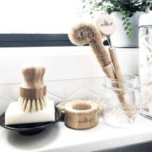 Wooden Brush Kitchen Set
