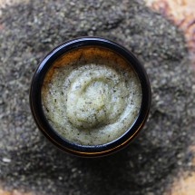 Organic Green Tea and Manuka Honey Face Scrub Image