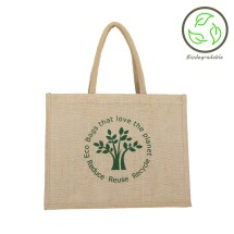 Natural Eco-Tree Jute Shopping Bag - 100% Biodegradable