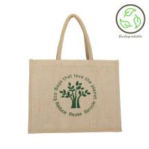 Natural Eco-Tree Jute Shopping Bag - 100% Biodegradable Image