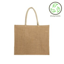 Natural Jute Shopping Bag - 100% Biodegradable