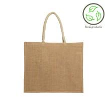 Natural Jute Shopping Bag - 100% Biodegradable Image