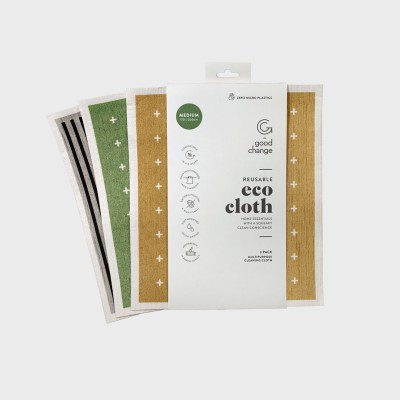 Eco Cloth – Medium (3 in a pack) Image
